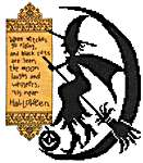 Click for more details of Witch's Ride (cross stitch) by Imaginating