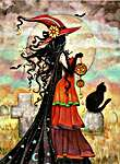 Click for more details of Witch Way (cross stitch) by Heaven and Earth Designs