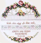 Click for more details of With This Ring (cross stitch) by Stoney Creek