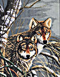 Click for more details of Wolves (cross-stitch kit) by Lanarte
