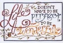 Click for more details of Wonderful Life (cross stitch) by Stoney Creek