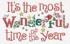 Click for more details of Wonderful Time (cross stitch) by Sue Hillis Designs