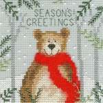 Click for more details of Xmas Bear (cross stitch) by Bothy Threads