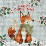 Click for more details of Xmas Fox (cross stitch) by Bothy Threads