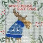 Click for more details of Xmas Moose (cross stitch) by Bothy Threads