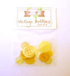 Click for more details of Yellow Vintage Buttons x10 (buttons and brads) by Elizabeth Grace