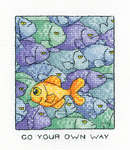 Click for more details of Your Own Way (cross stitch) by Peter Underhill
