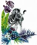 Click for more details of Zebra (cross stitch) by RTO
