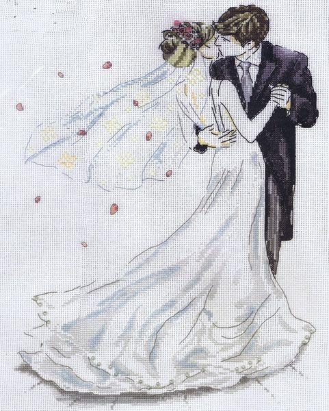 Wedding Couple Dance Cross Stitch Kit By Design Works Extraordinary Cross Stitch Wedding Patterns