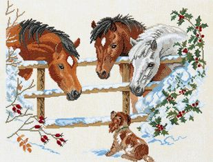Cross Stitch Kit Horse