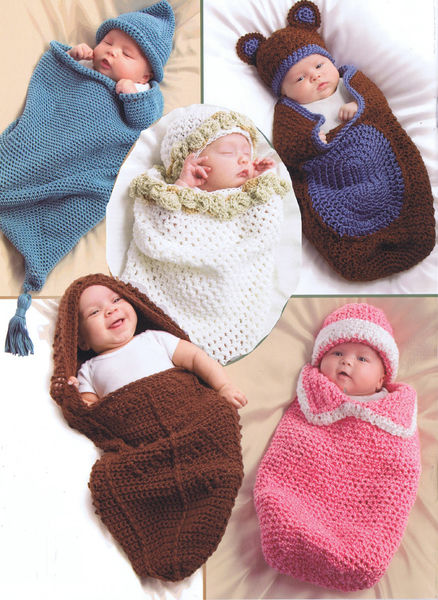 Cuddle Cocoons Crochet Pattern By Annies Attic