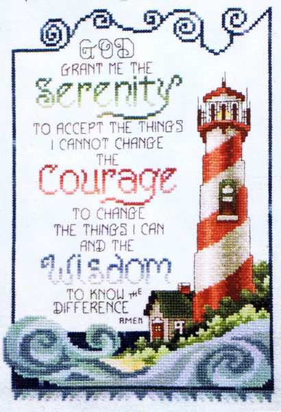 serenity prayer lighthouse