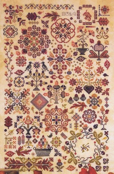 Autumn Quakers - cross...