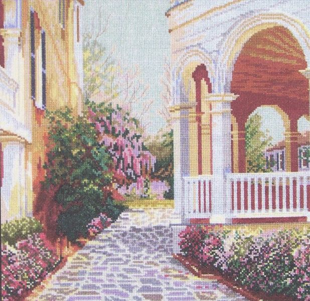 ghdonat.com Cross-Stitch Needlework South Battery View Counted ...