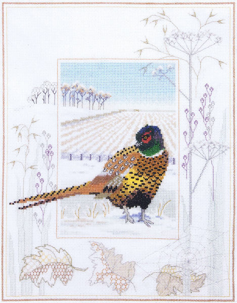 Pheasant Cross Stitch Kit
