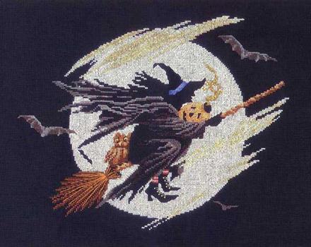 Wicked Witch Cross Stitch Pattern By Bobbie G Designs