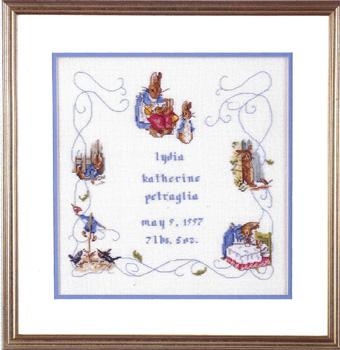 Beatrix Potter Cross Stitch Chart Peter Rabbit