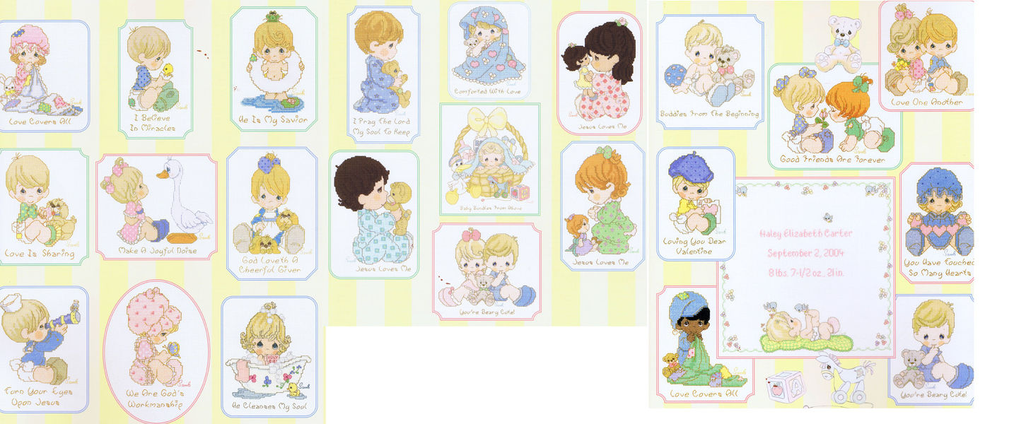 Precious moments a collection of favourites volume 2 cross.