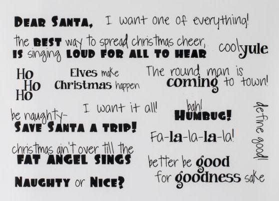 Funny Christmas Sayings.Funny Christmas Sayings Logo Sentiments