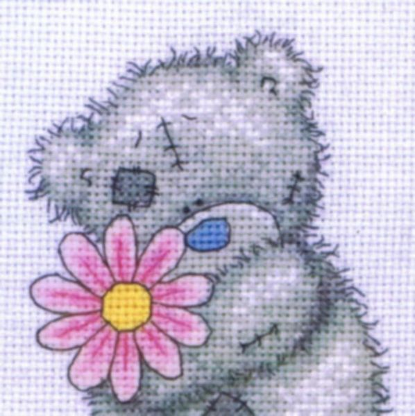 tatty teddy - a little flower