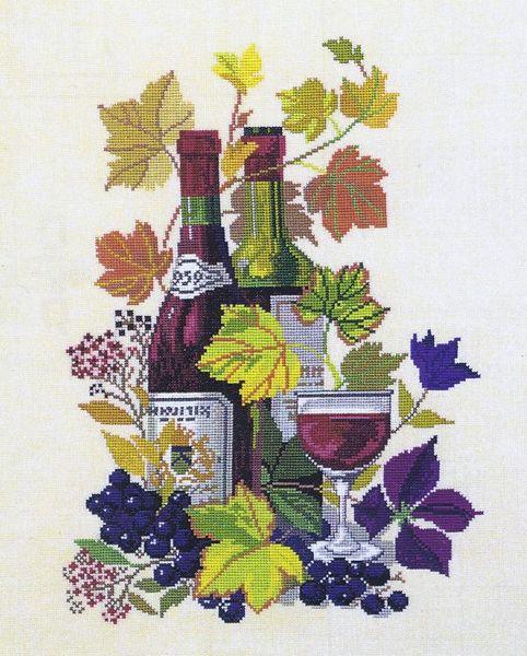 Grape wine Counted Cross Stitch Kit RTO