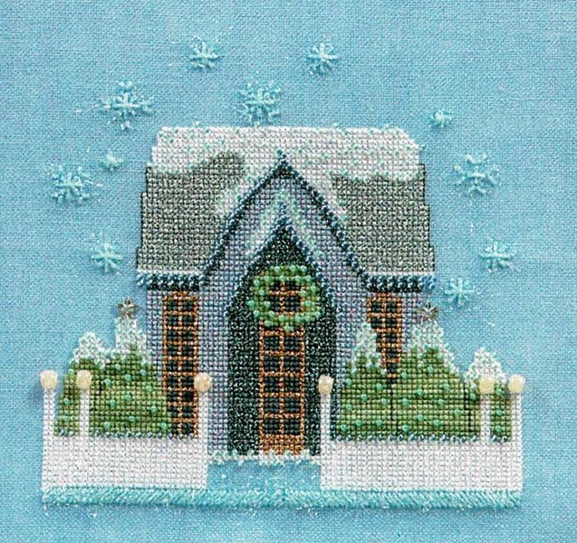 Cottage Cove B//W Cross Stitch Chart BUY 1 GET 1 HALF PRICE