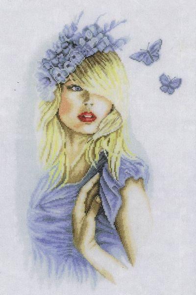 Blue Butterflies - cro...