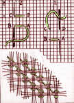 Indian Drawn Ground stitch