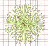 Octagonal Rhodes stitch