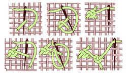 Zigzag Palestrina knot
