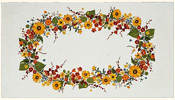 Sunflowers table cover