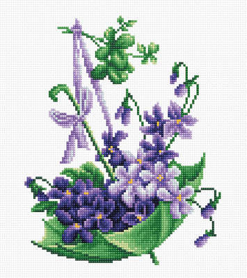 Cross Stitch Luca-S Smell Of Spring