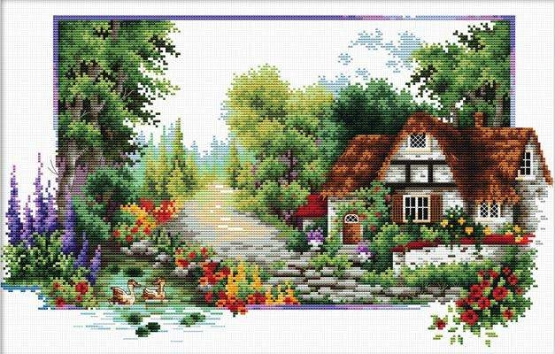 English Cottage Stream