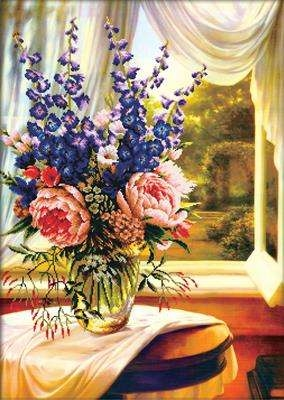 Floral Vase by the Window
