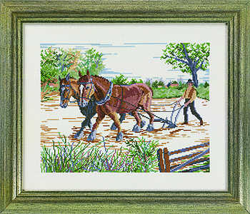 Ploughing - click for larger image