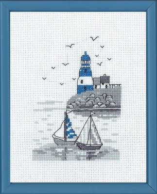 Blue Lighthouse - click for larger image