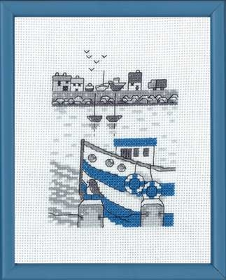 Blue Fishing Boat - click for larger image