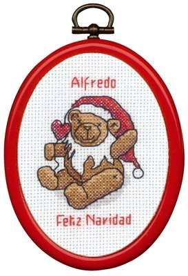 Christmas Teddy - click for larger image