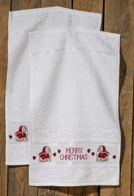 Merry Christmas Towels - click for larger image