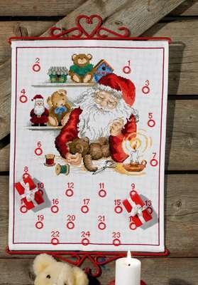 Santa's Workshop Advent Calendar - click for larger image