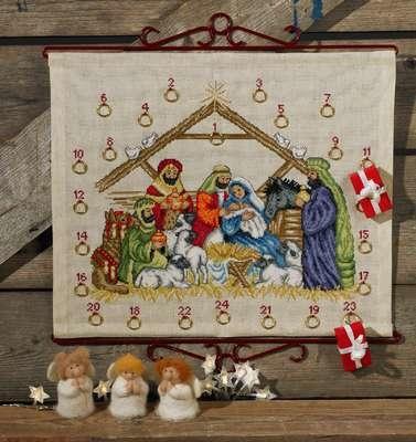 Nativity Advent Calendar - click for larger image