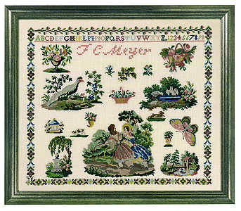 Victorian Sampler - click for larger image