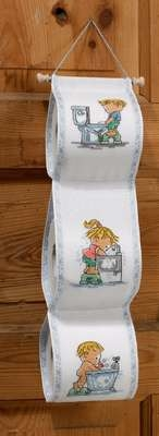 Children Toilet Roll Holder