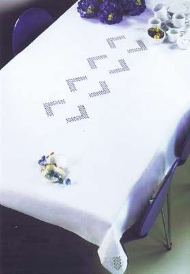 Large White Table Cover