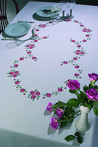Roses tablecover - click for larger image