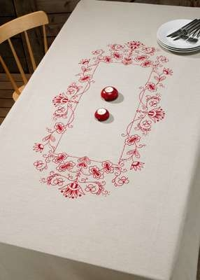 Classic Red Large Table Cover