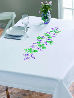 Wisteria Large Table Cover - click for larger image