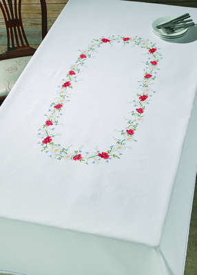 Large Summer Table Cover - click for larger image