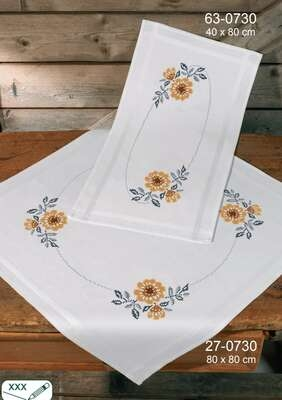 Sunflowers Table Runner - click for larger image