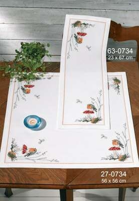 Robin Table Runner - click for larger image